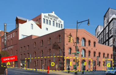 620 Franklin Avenue - Nassau Brewing Co - Crown Heights - Peter Schubert - TerraCRG, retail space for lease